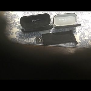 Gucci , Polar Optics, Oakley Glass Cases